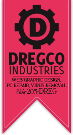 dregCo industries - Web Design, Graphic Design, PC Repair, Virus Removal